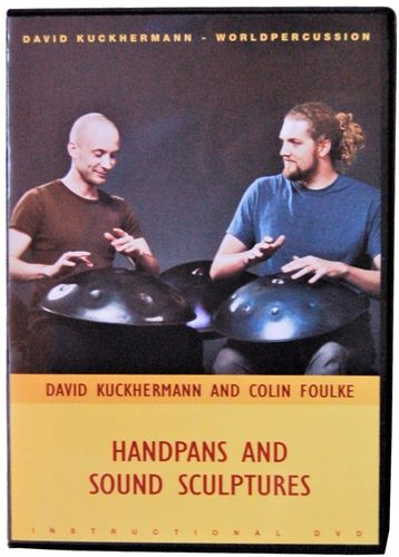 Handpans and Sound Sculptures 1 Lern DVD Handpan David Kuckhermann